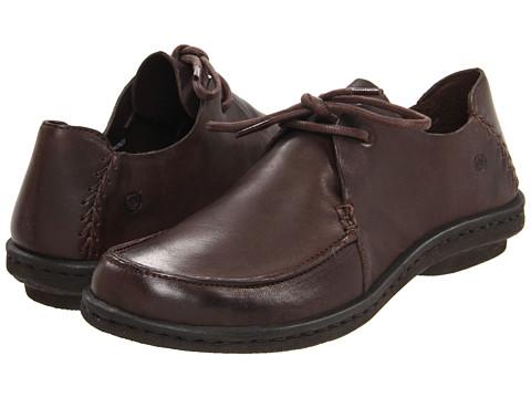 Pantofi Born - Marlina - Dark Brown Leather
