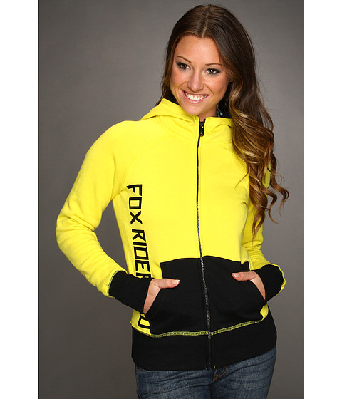 Bluze Fox - Wheelie Zip Hoodie - Lemonade