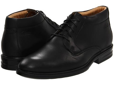 Pantofi Clarks - Millbrook Trail - Black Leather