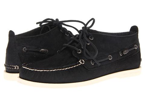 Pantofi Sperry Top-Sider - A/O Chukka - Black Pony Hair