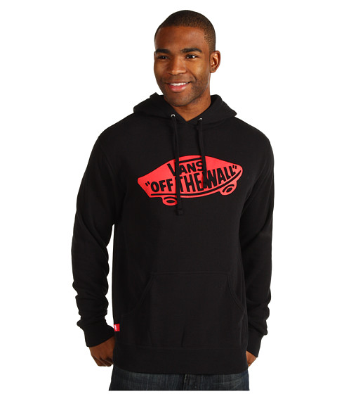 Bluze Vans - OTW Pullover Fleece - Black/Red