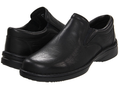 Pantofi Clarks - Childers Draft - Black Leather