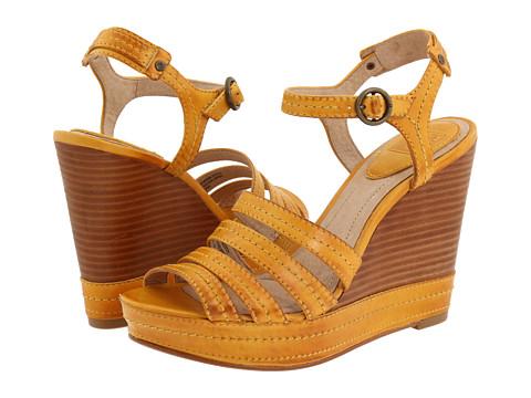 Sandale Frye - Corrina Stitch - Mustard Soft Leather