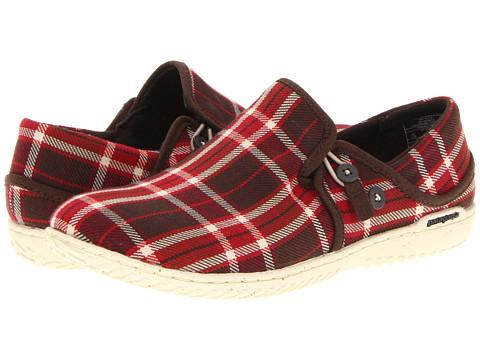 Pantofi Patagonia - Kula Button Plaid - Red Plaid
