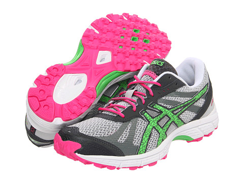 Adidasi ASICS - GEL-FujiRacerâ⢠- Grey/Neon Green/Hot Pink