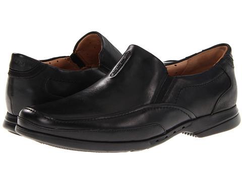 Pantofi Clarks - Un.Gregor - Black Leather