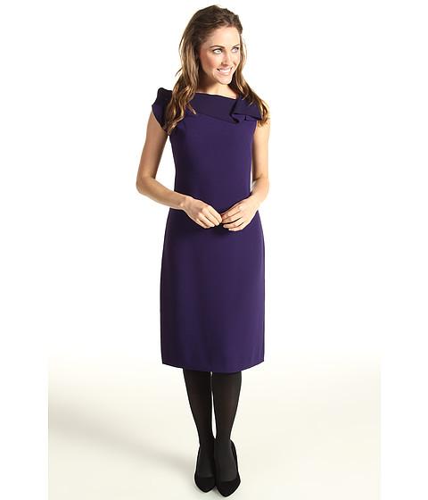 Rochii Elie Tahari - Sheldon Dress - Grape Harvest