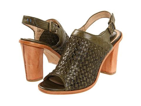 Sandale Frye - Sofia Woven Sling - Olive Soft Vintage Leather