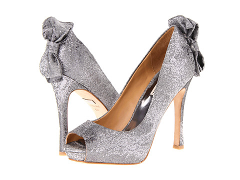 Pantofi Badgley Mischka - Macee - Silver Grey Metallic