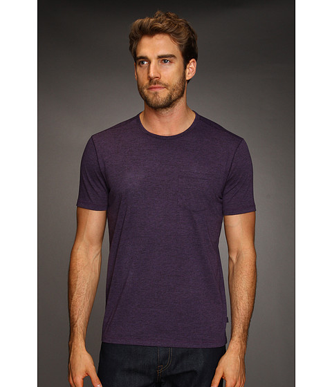 Tricouri John Varvatos - SS Burnout Crew - Dusty Violet