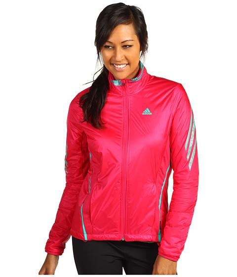 Bluze adidas - adizeroâ⢠Feather Jacket - Bright Pink/Hyper Green