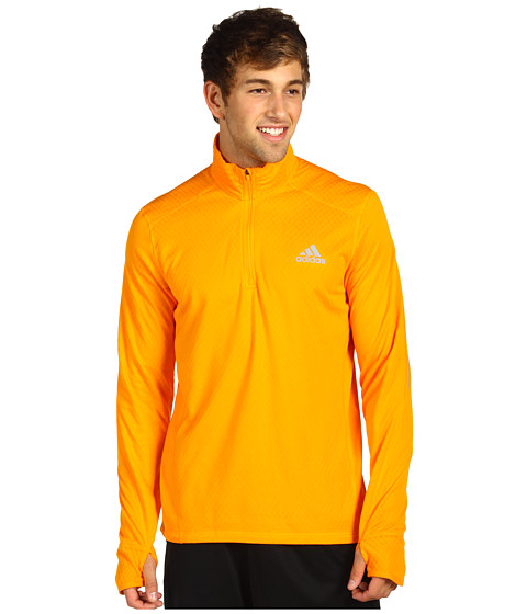 Bluze adidas - Flagstaff L/S Three-Quarter Zip - Bright Gold