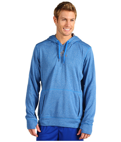 Bluze adidas - Ultimate Tech Pullover Hoodie - Bright Blue/Tech Grey