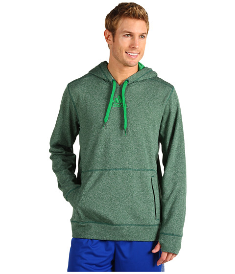 Bluze adidas - Ultimate Tech Pullover Hoodie - Forest/Prime Green
