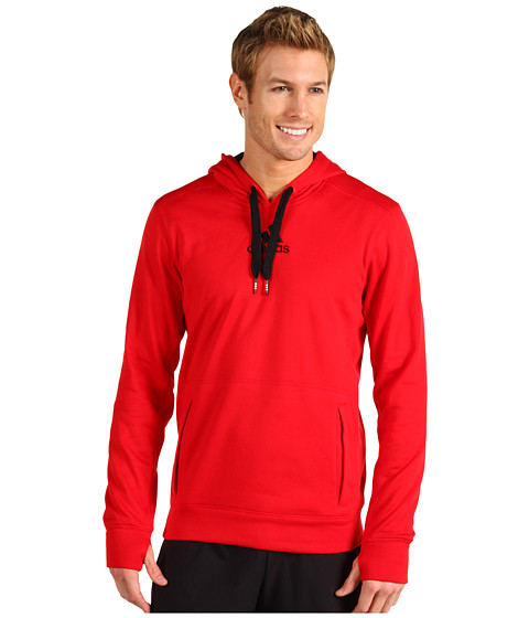 Bluze adidas - Ultimate Tech Pullover Hoodie - Light Scarlet