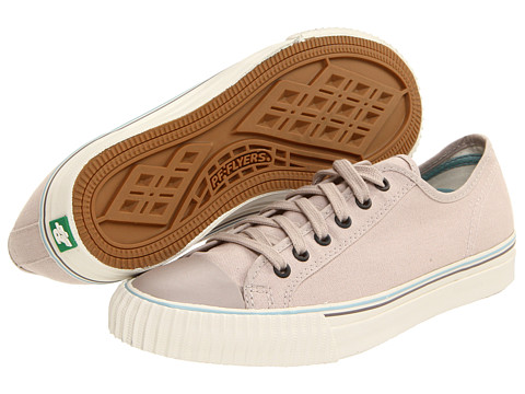 Adidasi PF Flyers - Center Lo - Tailored - Light Grey/White/Canvas