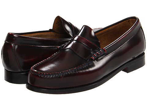 Pantofi Bass - Larson 2 - Burgundy Camaleon Leather