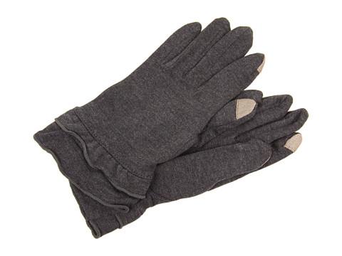 Manusi Echo Design - Echo Touch Warmers Ruffle Gloves - Slate