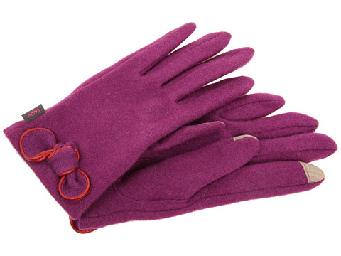 Manusi Echo Design - Touch Bow Glove - Plum Wine