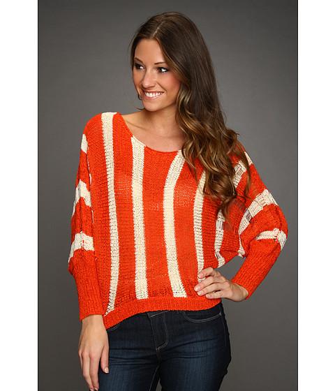 Bluze Gabriella Rocha - Jelina Stripe Sweater - Rust