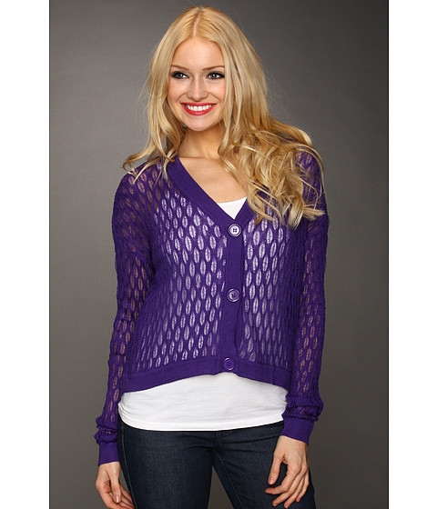 Bluze Gabriella Rocha - Kiel Netted Sweater - Purple