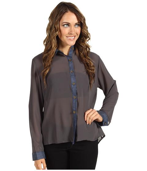 Bluze Gabriella Rocha - Ezri Studded Blouse - Grey