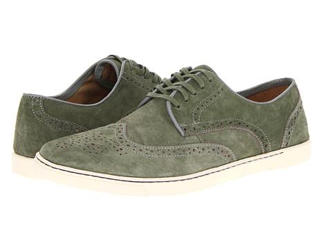 Pantofi Hush Puppies - Carver - Green Suede