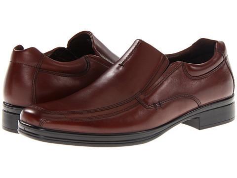 Pantofi Hush Puppies - Quatro Slip On BK - Dark Brown Leather