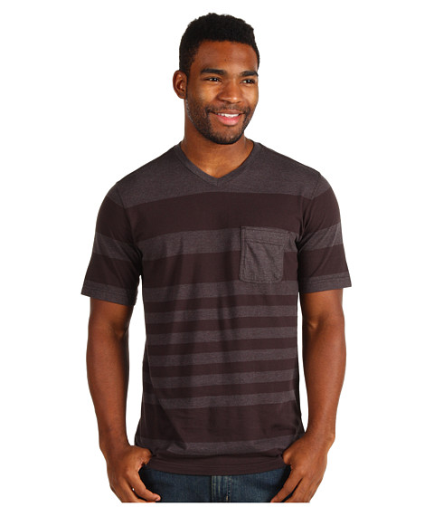 Tricouri Quiksilver - Canter Knit Tee - Dark Charcoal