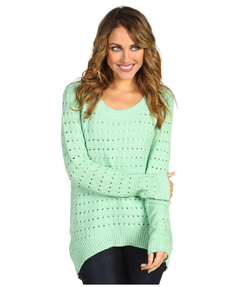 Pulovere BCBGeneration - Cozy Open-Knit Pullover - Menthol