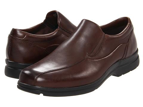 Pantofi Rockport - Drumlin Hill Gore Bike Front - Dark Brown