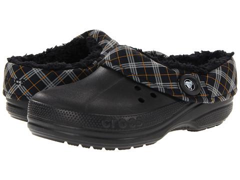 Sandale Crocs - Blitzen Winter Plaid Unisex - Black/Black
