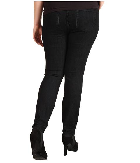 Blugi Lucky Brand - Plus Size Pull-On Denim Legging in Black Overdye - Black Overdye