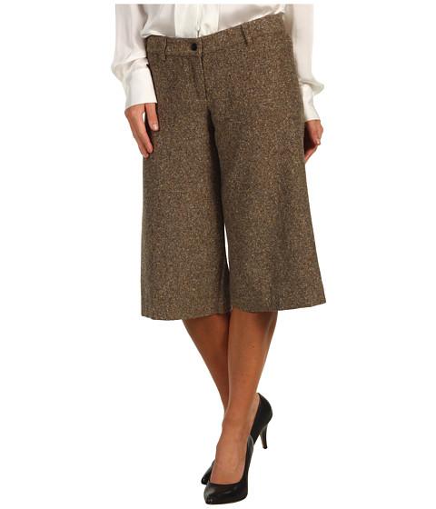 Pantaloni MICHAEL Michael Kors - Hudson Donegal Tailored Gauchos - Dark Camel