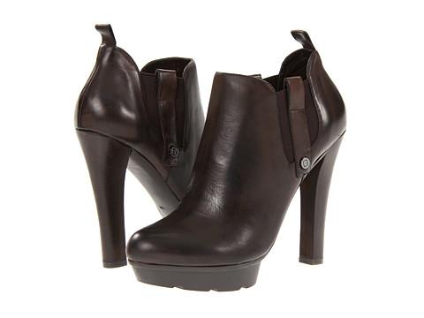Cizme GUESS - Zarrick - Dark Brown Leather