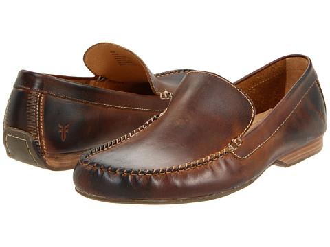 Pantofi Frye - Lewis Venetian - Tan Antique Pull Up