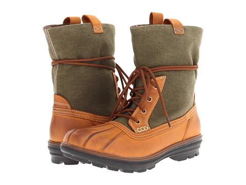 Ghete Cole Haan - Air Scout Boot - Oak Waterproof/Forest Canvas