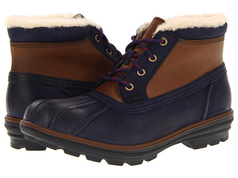 Ghete Cole Haan - Air Scout Chukka - Navy/Brown Waterproof/Shearling
