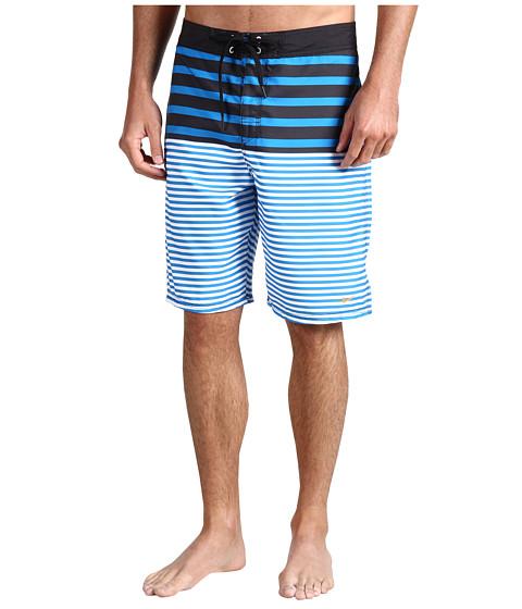 "Special Vara Nike - Scout Stripes 21\\"" Boardshort - Photo Blue/Black/Madarin/Mandarin"