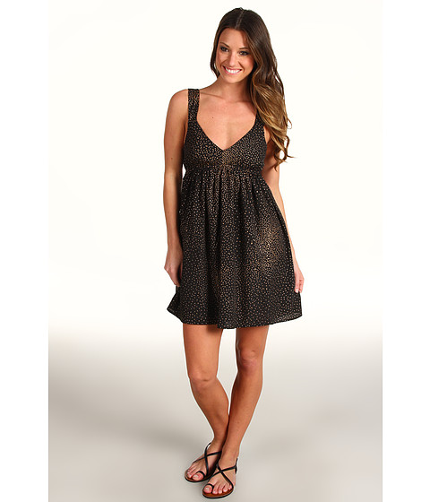 Rochii Roxy - Love Seeker Tank Dress (Juniors) - True Black Floral