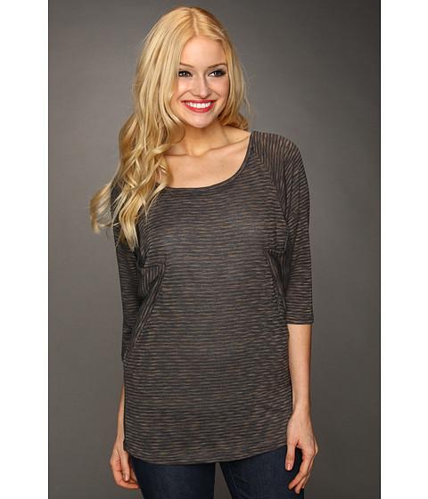 Bluze Christin Michaels - Hana 3/4 Sleeve Top - Grey