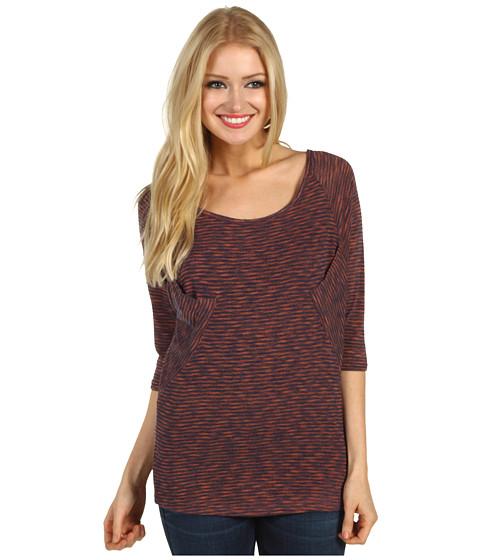 Bluze Christin Michaels - Hana 3/4 Sleeve Top - Pink