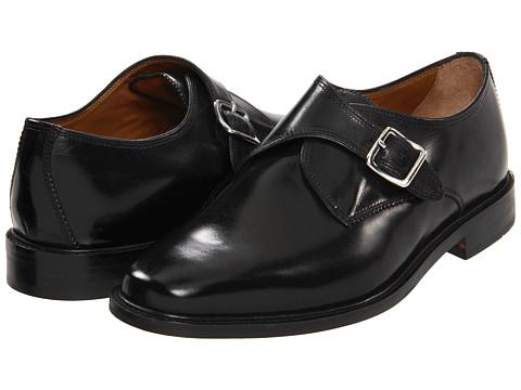 Pantofi Florsheim - Asset Monk - Black Leather