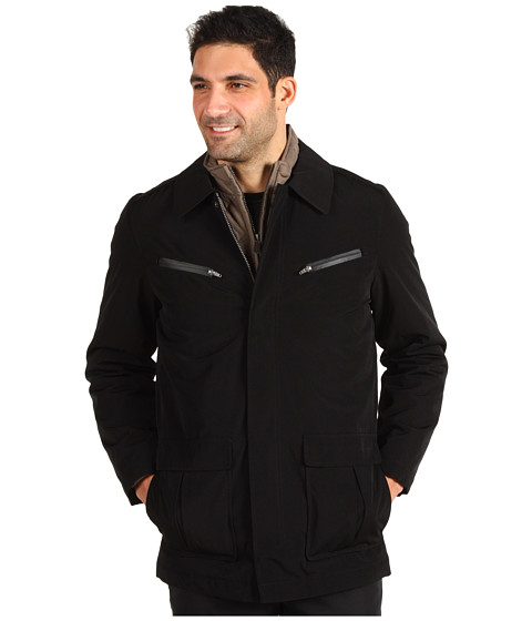 Jachete Nautica - Poly Tech 3-in-1 Systems Coat - Black