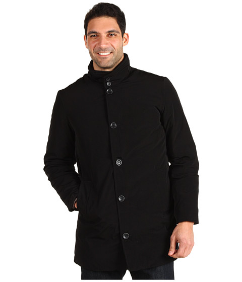 Jachete Nautica - Poly Tech Single Breasted Coat - Black