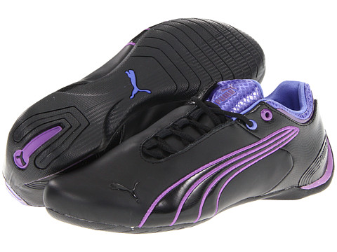Adidasi PUMA - Future Cat M2 Weave Wn\\\'s - Black/Amaranth Purple/Violet