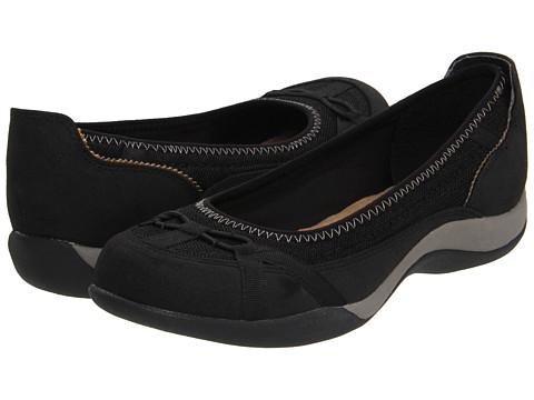 Balerini Soft Style - Samara - Black Faux Suede/Mesh