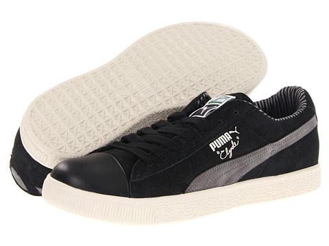 Adidasi PUMA - Clyde TC Lodge - Black/Steel Grey/Birch