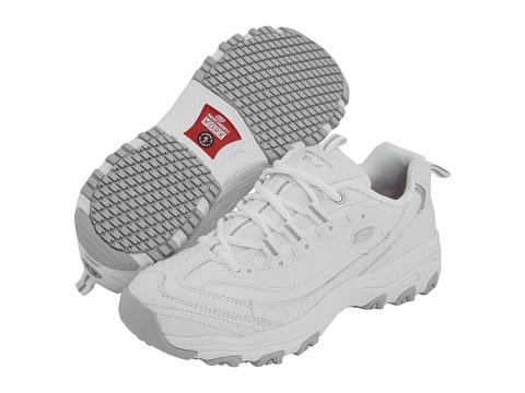 Adidasi SKECHERS - D\Lite SR - White Leather