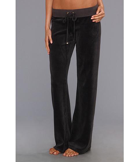 Pantaloni Juicy Couture - Original Velour Drawstring Pant - Top Hat